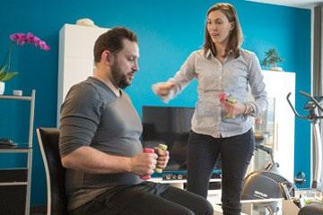 Exercice de renforcement musculaire